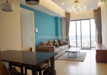 Masteri Thao Dien middle floor T2A building for rent apartment with 2 bedrooms nice furniture