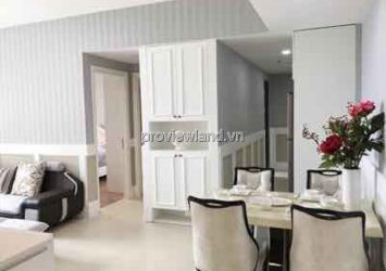 Masteri Thao Dien apartment high floor T5B building nice furniture 2 bedrooms