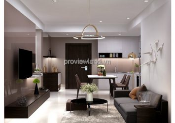 Apartment 1 bedroom low-floor in T5 tower modern Masteri Thao Dien