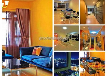 Saigon Pearl for rent 2 bedrooms high floor Sapphere1 fully furnished