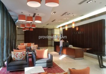 Apartment in Saigon Pearl 3 bedrooms high floor Ruby 1 with modern facilities for rent