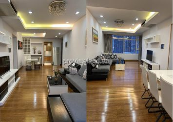 Saigon Pearl apartment nice furniture exquisite design 3 bedroom on the lower floor for sale
