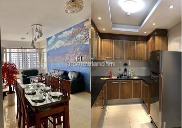 Apartment 3-bedroom Sapphire1 Saigon Pearl fully furnished with city view for sale