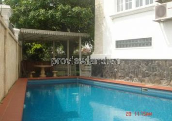 Villa in Thao Dien District 2 for sale, Nguyen Van Huong, area 533sqm, 1 basement + 4 floors