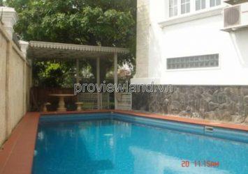 Villa in Thao Dien District 2 for sale, Nguyen Van Huong, area 533sqm, 1 basement + 4 floors