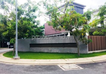 Riviera Cove villa for sale in District 9, corner 3 of the front of the rough house with an area of 388m2