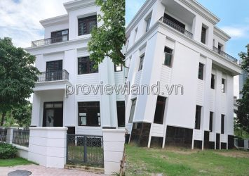 Villa for sale Vinhomes Central Park, Binh Thanh, raw house, 326m2 area