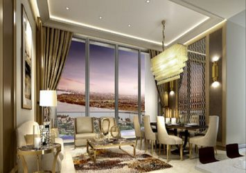 Selling low-rise apartment in Tower C furniture live view fully equipped at The Nassim
