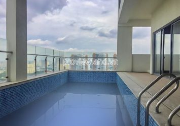 Sky Villa Diamond Island for sale 2 floors area 392m2 with swimming pool and garden
