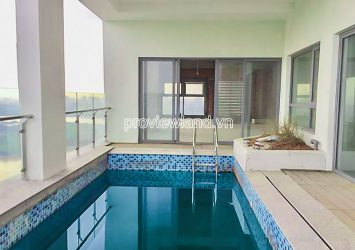Sky Villa Penthouse Diamond Island for sale with 2-storey garden swimming pool area 263m2
