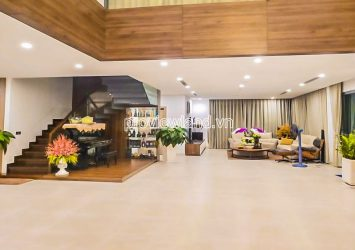 Nice Pool Villa for sale at Diamond Island 2 floors with swimming pool garden