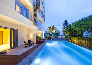 Pool Villa for sale with river view at Diamond Island 2 floors 4 bedrooms area 560m2