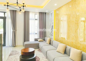 Shophouse for rent at Lakeview City An Phu D2 luxurious architecture 4 floors