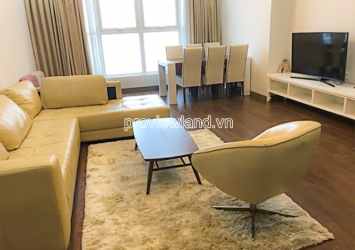 For rent apartment includes 3 bedrooms in block A Thao Dien Pearl with area 137m2