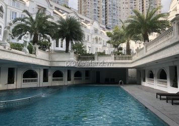 Saigon Pearl villa compound area 36 units, 300m2 of land, 1 basement + 4 floors