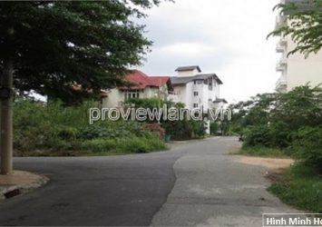 Lan for sale in Thao Dien District 2, area 198m2, red book, build 6 floors