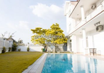 Villa for sale Thao Dien Nguyen Van Huong 582sqm area of 3 floors