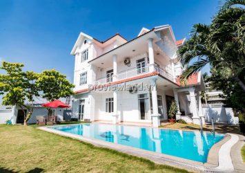 Villa for rent in Thao Dien District 2 582m2, 3 floors, 5 bedrooms