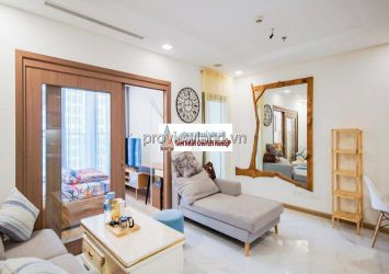 Vinhomes Central Park apartment for rent with 1 bedroom Landmark 81 tower fully furnished