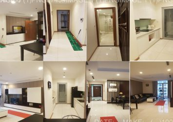 Vinhomes Central Park apartment with 3 bedrooms C1 high floor fully furnished modern luxury