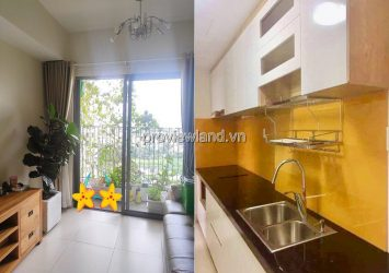 Masteri Thao Dien apartment on low floor T5B spacious airy design with 2 bedrooms
