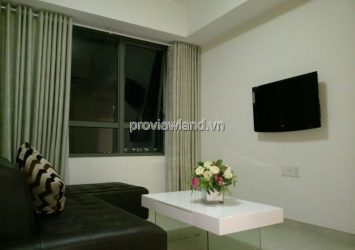 Apartment high floor tower T2B Masteri Thao Dien has 2 bedrooms fully furnished for rent