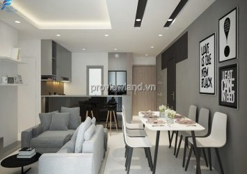 Masteri Thao Dien apartment with 3 bedrooms T1 tower direct view of Landmark 81 for sale