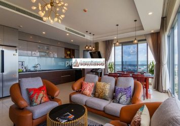 Diamond Island for sale apartment 3 bedroom luxury furnished modern