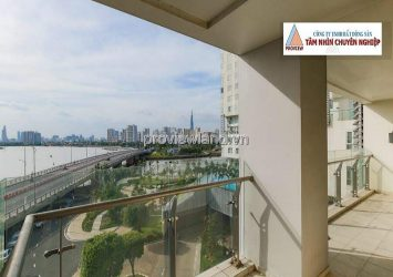 Apartment for rent in Diamond Island 3 bedroom Briliant tower with basic furniture
