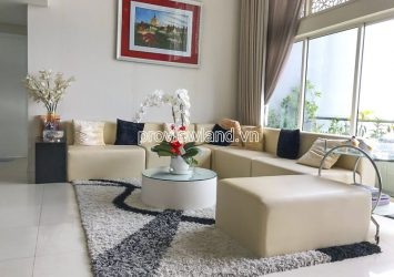 Penthouse The Estella for sale 4 bedrooms 256m2 view Saigon bridge
