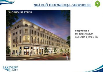 Shophouse District 2 for rent in Lakeview Novaland 100 square meters