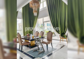 Penthouse for rent in Thao Dien Pearl 2 floors at block A beautiful view