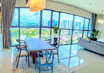 Apartment at The Ascent Thao Dien block B for rent high floor with river view