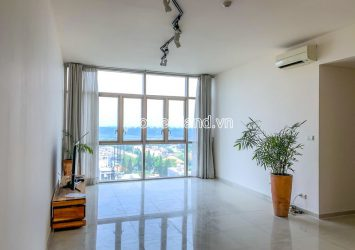 The Vista apartment for rent includes 3 bedrooms low floor river view