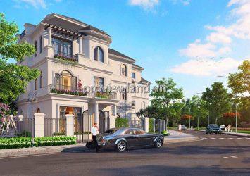 Vinhomes Grand Park villa for sale Detached Villa villas has an area of 755m2 with 3 floors