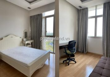 Apartment for rent in The vista middle floor T4 tower 3 bedrooms river view