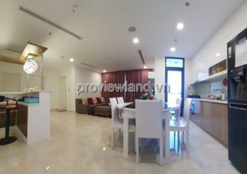 Apartment for rent in Vinhomes Golden River 3 bedrooms high floor Lux 6 block fully furnished