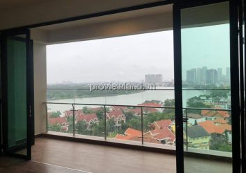 Apartment middle floor 3 bedrooms wall-mounted at D'edge Thao Dien need to rent