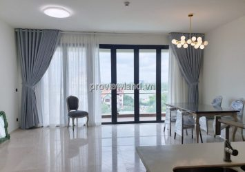 D'edge Thao Dien needs to rent apartment 4 bedrooms low floor with basic furniture