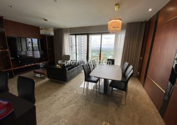 Estella Heights apartment 4-bedroom on T2 high floor fully furnished