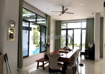 Thao Dien villa 3-storey 4 Bedrooms with spacious and cool garden for sale