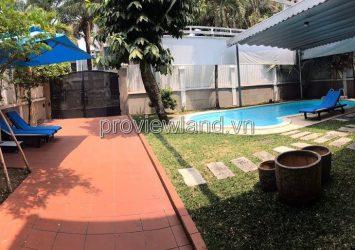 Villa for rent in Thao Dien District 2, 2 floors, 5 bedrooms, swimming pool garden