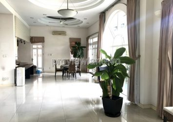 Villa for rent in Tran Nao District 2 includes 4 bedrooms
