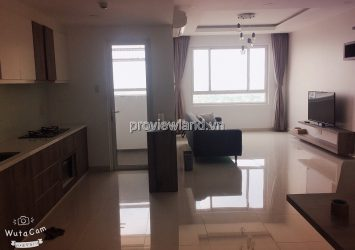 Apartment basic furnished 3 bedroom in Tropic Garden, Tower C2 for rent