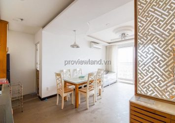 Apartment for rent in Tropic Garden tower A2 high floor 3 bedrooms