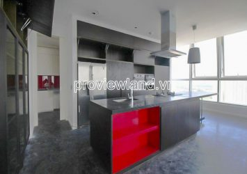 Penthouse for sale in Thao Dien Pearl block A, 2 floors 4 bedrooms with nice view