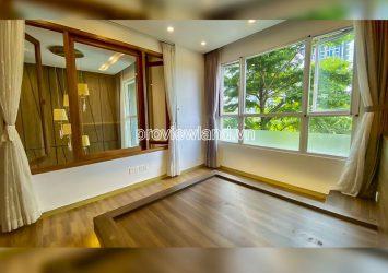 Duplex garden pool view apartment for rent at Vista Verde with 2 floor 3 bedrooms