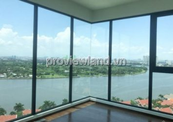 Penthouse D'Edge Thao Dien sale, very hot, 411m2, raw house, river view