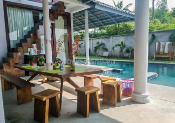 Villa for sale in Truong Tho Ward, Thu Duc, 800m2, 2 floors, swimming pool garden