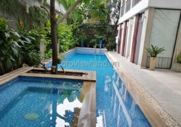 Thao Dien villa for sale 470m2 of land 4 floors, land with garden swimming pool